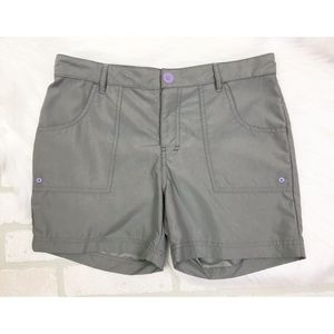 The North Face Girls Gray Shorts Large 14/16